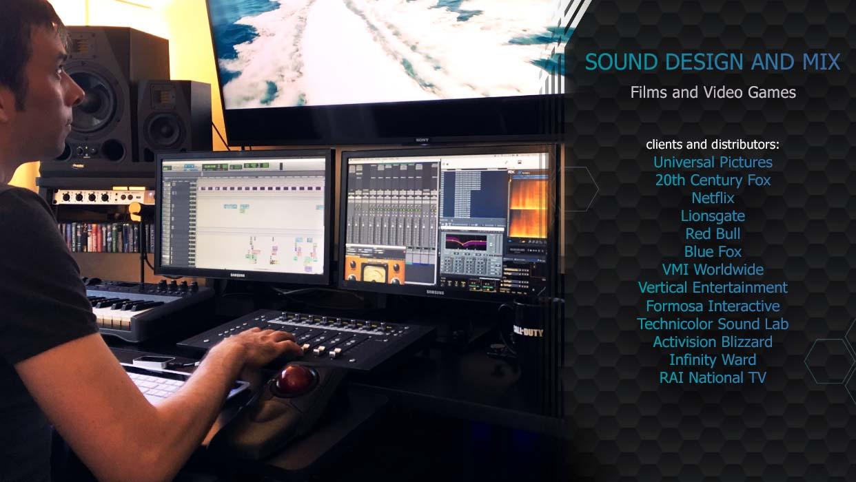 Daniele Carli Sound Design Mix Studio